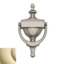 Lifetime Polished Brass Victorian Knocker