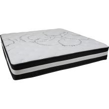Capri Comfortable Sleep 12 Inch Foam and Pocket Spring Mattress, King in a Box