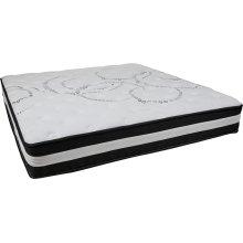 Capri Comfortable Sleep 12 Inch Foam and Pocket Spring Mattress, King in a Box