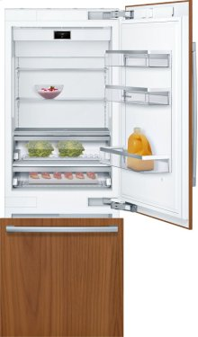 """Benchmark® Benchmark®, 30"""" Built-in Two Door Bottom Freezer Refrigerator with Home Connect, B30IB900SP, Custom Panel"""