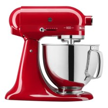 100 Year Limited Edition Queen of Hearts 5 Quart Tilt-Head Stand Mixer - Passion Red
