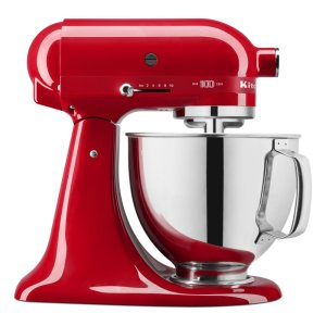 Kitchenaid100 Year Limited Edition Queen of Hearts 5 Quart Tilt-Head Stand Mixer - Passion Red