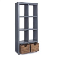 Bookcase - Boutique Blue Finish