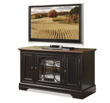 "Anelli II 48"" TV Console Vintage Cherry/Bridgewood Black finish"