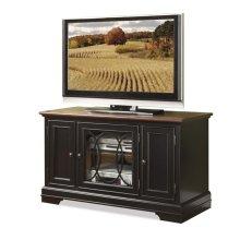"Anelli II 48"" TV Console Vintage Cherry/Bridgewood Black finish"