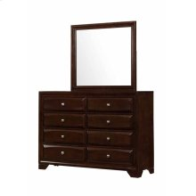 Jaxson Transitional Cappuccino Eight-drawer Dresser