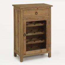 Wine Cabinet W/ Drawer