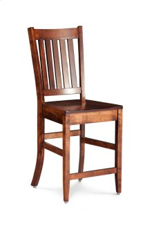 "Wright Stationary Barstool, 30"" Seat Height"