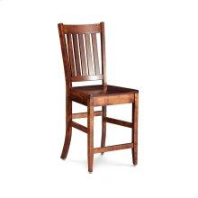 "Wright Stationary Barstool, 30"" Seat Height"