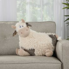 "Plushlines N1432 Ivory 1'2"" X 2' Plush Animals"