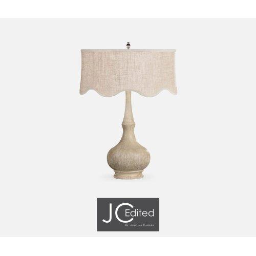 Limed Acacia Table Lamp