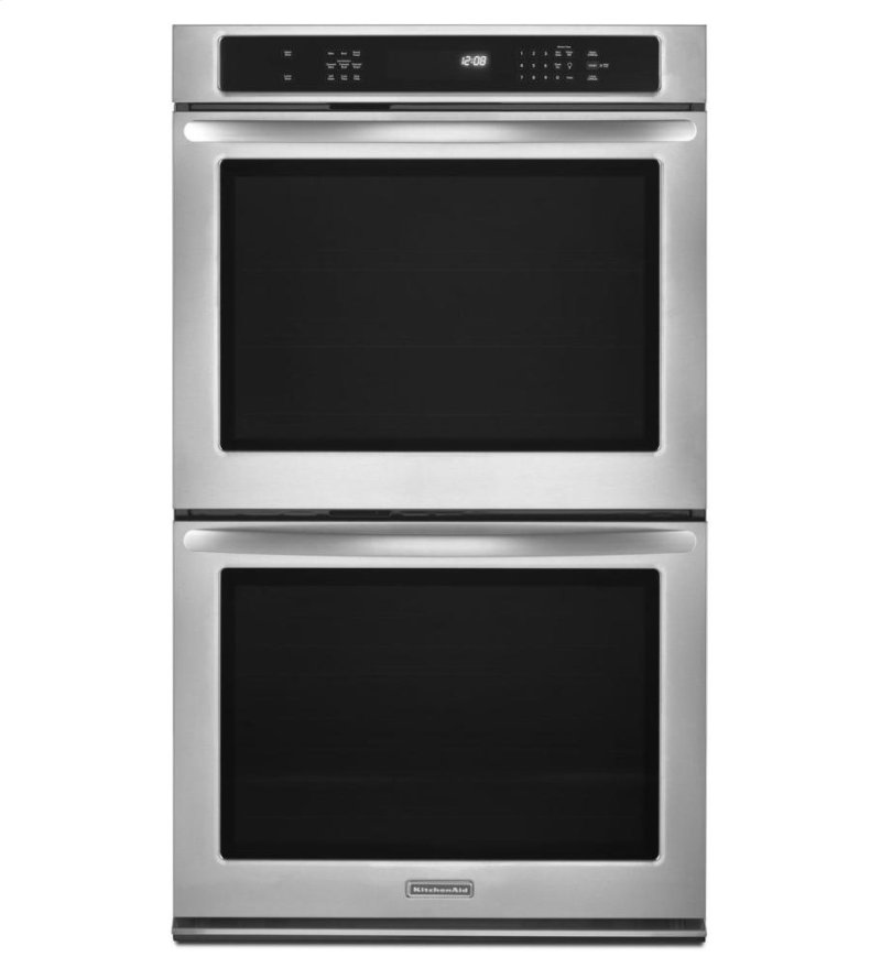 30 Inch Convection Double Wall Oven Openbox Closeout Architect Series Ii