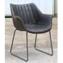 Modern Antique Espresso Dining Chair
