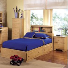 2-Drawer Mates Bed and Headboard, Twin