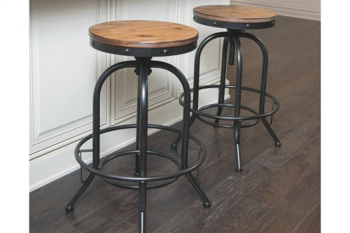 Tall Swivel Stool (2/CN)