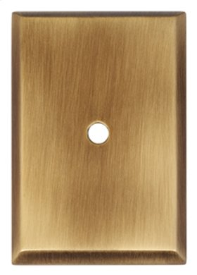 Traditional Backplate A610-14 - Antique English Matte