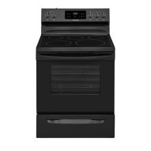 fRIGIDIAIRE BLACK STAINLESS PACKAGE