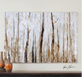 Mystic Forest Hand Painted Canvas