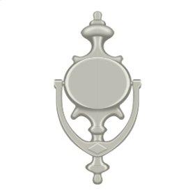 Door Knocker, Imperial - Brushed Nickel
