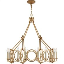 Visual Comfort NW5011VG Niermann Weeks Brittany 16 Light 37 inch Venetian Gold Chandelier Ceiling Light, Niermann Weeks