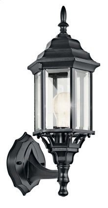 "Chesapeake 17"" 1 Light Wall Light Black"