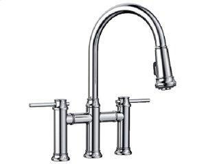 Blanco Empressa Bridge Faucet - Polished Chrome Product Image