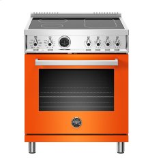 """30"""" Professional Series range - Electric self clean oven - 4 induction zones"""