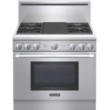 "Professional Series 36"" Gas Standard-depth Range  - Porcelain Rangetop"