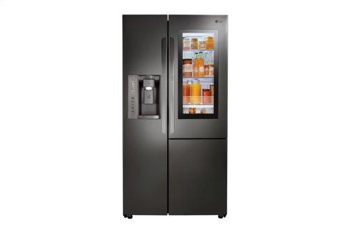 LG Black Stainless Steel Series 22 cu.ft. InstaView Door-in-Door® Side-By-Side Counter-Depth Refrigerator