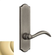Polished Brass Rustic L028 Lever Screen Door