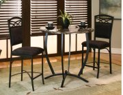 Sunset Trading 3 Piece Sierra Round Counter Height Dining Set Product Image