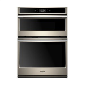 6.4 cu. ft. Smart Combination Wall Oven with Microwave Convection - FINGERPRINT RESISTANT SUNSET BRONZE