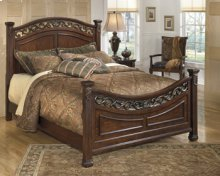 Leahlyn - Warm Brown 3 Piece Bed Set (King)