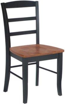 Madrid Chair Cherry & Black