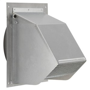 "BestFresh Air Inlet Wall Cap for 6"" Round Duct for Range Hoods and Bath Ventilation Fans"