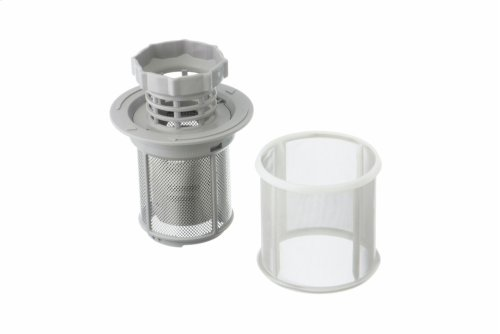 Filter-micro Microfilter, 3-piece For dishwashers with water switches
