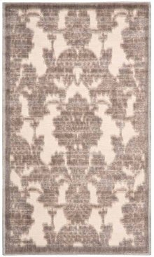 Graphic Illusions Gil03 Ivlat Rectangle Rug 3'6'' X 5'6''