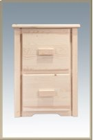 Homestead 2 Drawer File Cabinet Product Image