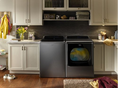 8.8 cu.ft Smart Top Load Gas Dryer with Remote Control