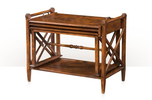 A Rustic Ideal Nest of Table