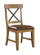 Emerald Home Chandler Dining Chair Dark Walnut Finish D100-20 Product Image