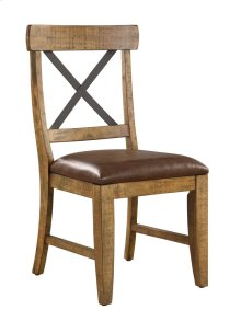Emerald Home Chandler Dining Chair Dark Walnut Finish D100-20