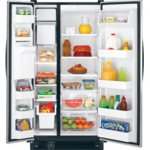 Crosley Side By Side Refrigerators (Spill-Safe Glass Shelves)