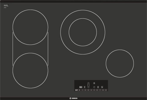 "30"" Electric Cooktop 800 Series - Black Frameless NET8066UC"