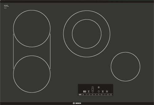 "30"" Electric Cooktop 800 Series - Black Frameless NET8066UC"