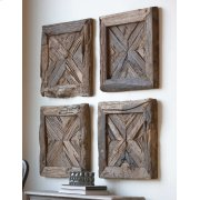 Rennick Wood Wall Square Product Image