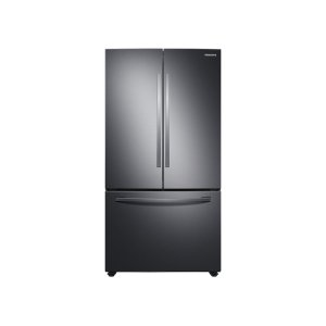 SAMSUNG28 cu. ft. Large Capacity 3-Door French Door Refrigerator in Black Stainless Steel