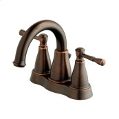Tumbled Bronze Eastham Two Handle Centerset Lavatory Faucet
