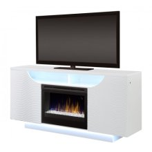 Ethan Media Console Electric Fireplace