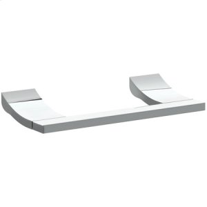 Polished Nickel Double Post Toilet Tissue Holder